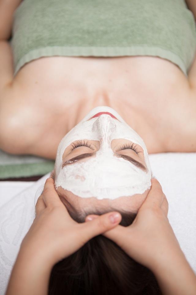 white mask massage back smaller