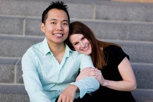 Cross-cultural couple