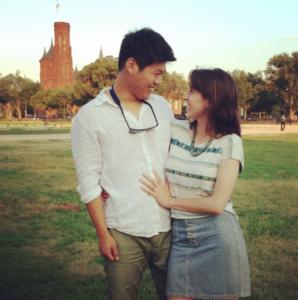 korean american couple