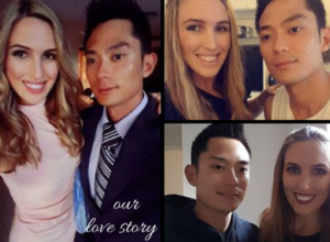 stunning AMWF couple