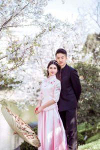 elegant amwf couple