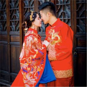 french chinese couple