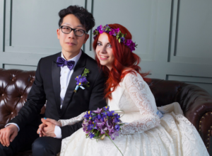 Russian Korean couple